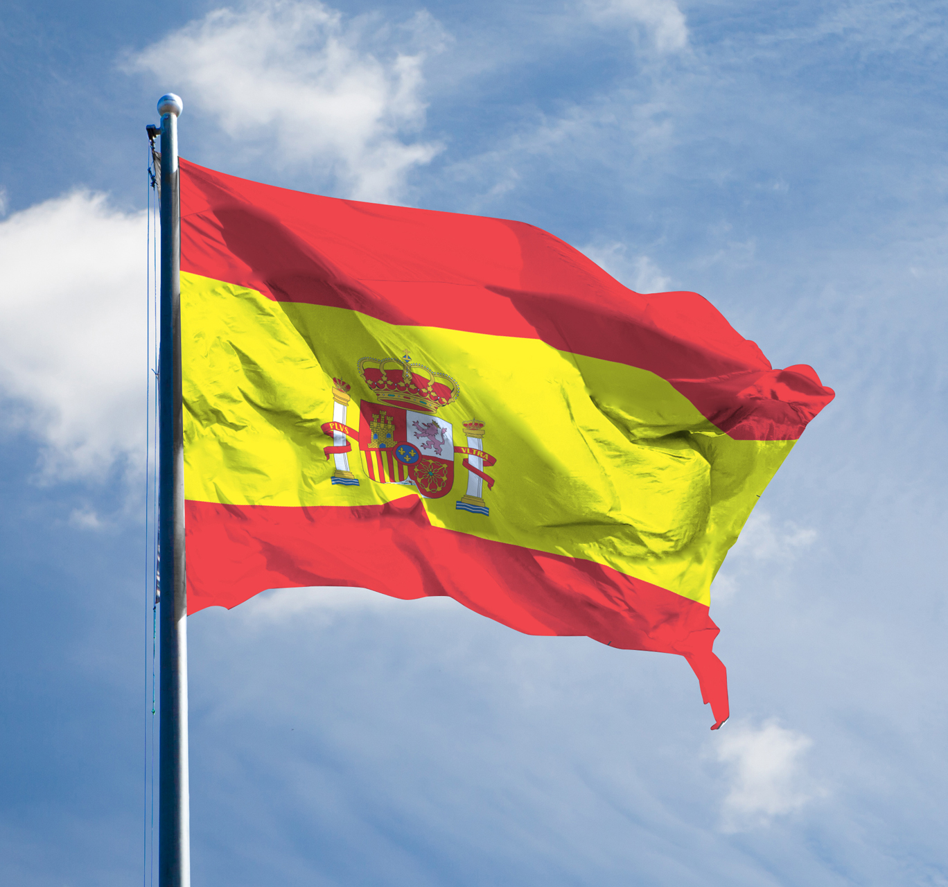 Flag-Blickle-afdeling-Spain
